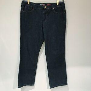 3/$20 Style & Co Jeans 14 Short Dark Denim